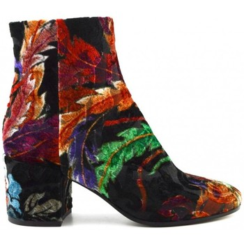 Chaussures Femme Bottines Strategia A3290-T devore dragon Multicolor