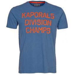 Vêtements Homme T-shirts manches courtes Kaporal T-Shirt Jakeh Bleu Bleu