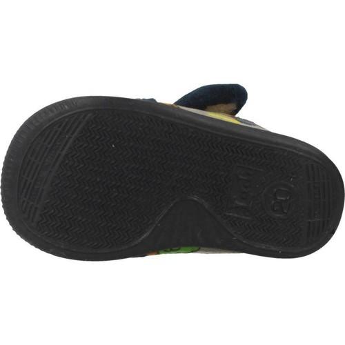 Femme Bleu Chaussons Chaussures Vulladi 39719 rChtsQdx