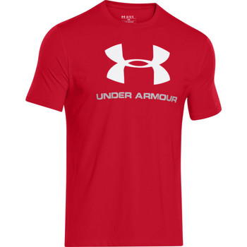Vêtements Homme T-shirts manches courtes Under Armour Sportstyle Logo Red