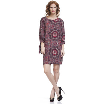 Vêtements Femme Robes courtes Tantra Robe PRICY Femme Collection Automne Hiver Rouge