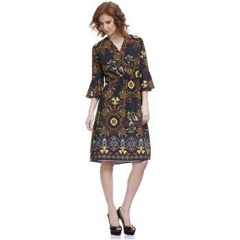 Vêtements Femme Robes courtes Tantra Robe FLAW Femme Collection Automne Hiver Moutarde