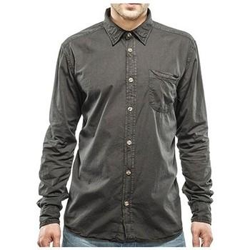 Vêtements Homme Chemises manches longues Petrol Industries SIL465 Métal