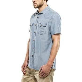 Vêtements Homme Chemises manches courtes Petrol Industries SIS459 Bleu