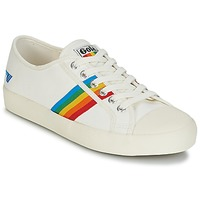 Chaussures Femme Baskets basses Gola COASTER RAINBOW Blanc