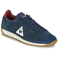 Chaussures Homme Baskets basses Le Coq Sportif QUARTZ PERFORATED NUBUCK Bleu / Rouge