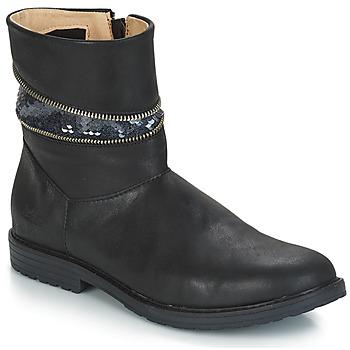 Chaussures Fille Bottines GBB MAFALDA Noir