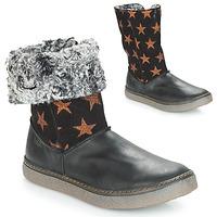 Chaussures Fille Bottes ville GBB DUBROVNIK VTC NOIR-CUIVRE DPF/GLEN