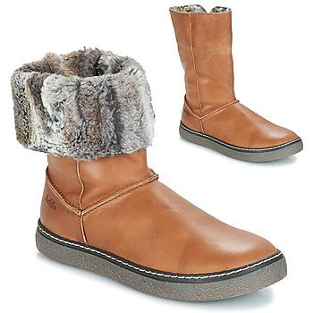 Chaussures Fille Bottes ville GBB DUBROVNIK VTE FAUVE DCH/GLEN