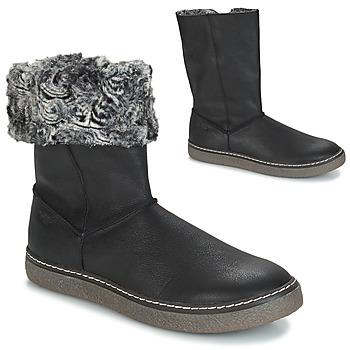 Chaussures Fille Bottes ville GBB DUBROVNIK NUB NOIR DCH/GLEN