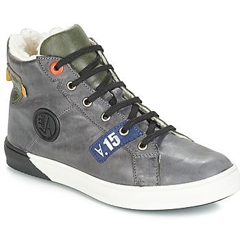 Chaussures Garçon Baskets montantes GBB SILVIO Gris