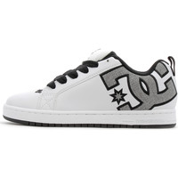 Chaussures Homme Baskets basses DC Shoes Court Graffik SE White / Heather Grey