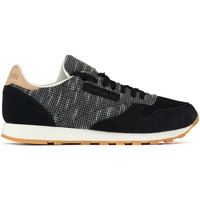 Chaussures Femme Baskets basses Reebok Sport Baskets  Cl Leather Ebk Noir Homme Noir