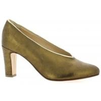 Chaussures Femme Escarpins Ambiance Escarpins cuir laminé Bronze
