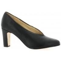 Chaussures Femme Escarpins Ambiance Escarpins cuir laminé Noir