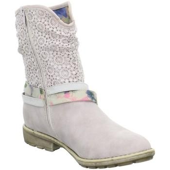 Chaussures Bottines S.Oliver Kinderstiefel Rose