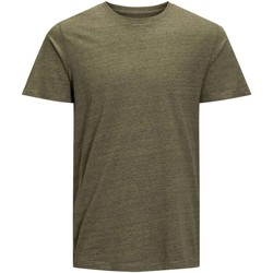 Vêtements Homme T-shirts manches courtes Jack & Jones 12119606 TABLE T-SHIRT Homme DEEP LICHEN DEEP LICHEN