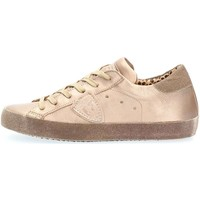 Chaussures Femme Baskets basses Philippe Model Paris CGLD ML16 PARIS SNEAKERS Femme Champagne Champagne
