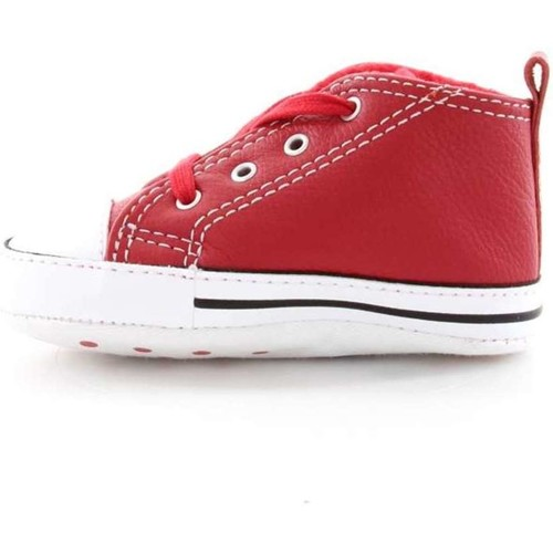 Converse 855120C FIRST STAR SNEAKERS junior unisexe RED WHITE RED WHITE - Chaussures Baskets basses