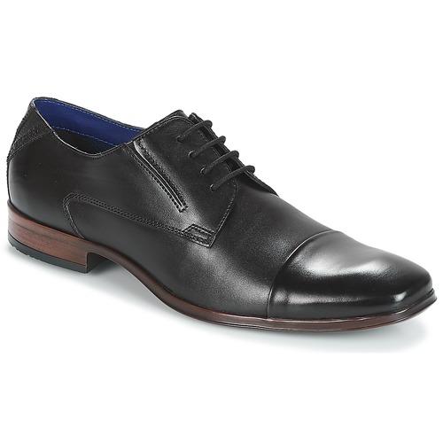 Bugatti  Noir - Livraison Gratuite avec - Chaussures Derbies Homme