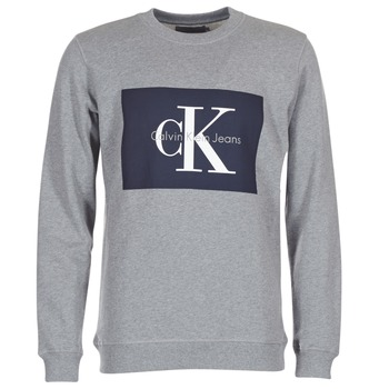 Vêtements Homme Sweats Calvin Klein Jeans HOTORO REGULAR Gris