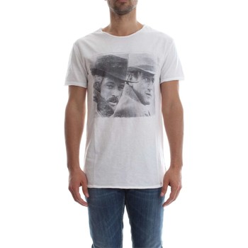 Vêtements Homme T-shirts manches courtes 1921 Tshirt 18 REDFORD/NEWMAN T-SHIRT Homme WHITE WHITE