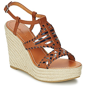 Chaussures Femme Sandales et Nu-pieds Mellow Yellow SAKE Camel