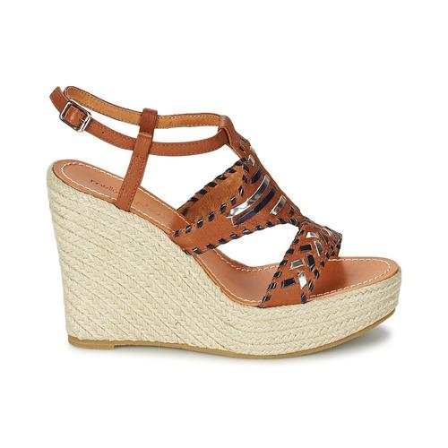 Chaussures Nu Yellow Sake Mellow Camel Sandales Et pieds Femme 3jc54LqAR