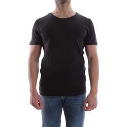 Vêtements Homme T-shirts manches courtes Selected 16046249 NEW DAVE T-SHIRT Homme BLACK BLACK