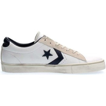 Chaussures Homme Baskets basses Converse 148457C PRO LEATHER OX LEATHER SNEAKERS Homme WHITE NAVY WHITE NAVY