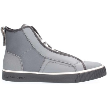 Chaussures Homme Baskets montantes G-Star Raw D07657 F076 SCUBA MID SNEAKERS Homme GREY GREY