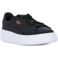 Chaussures Femme Baskets basses Puma BASKET PLATFORM CORE Nero