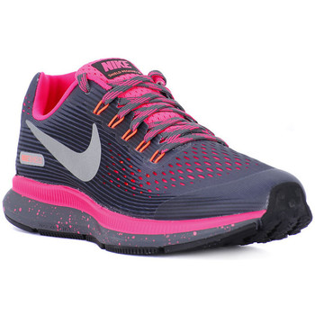 Chaussures Femme Baskets basses Nike ZOOM PEGASUS 34 SHIELD GS Grigio