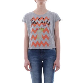 Vêtements Femme T-shirts manches courtes Only 15115316 DONNA T-SHIRT Femme LIGHT GREY LIGHT GREY