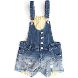 Vêtements Enfant Combinaisons / Salopettes Silvian Heach SKJE0099 SALOPETTE fille DENIM DENIM