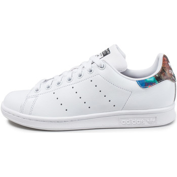 Chaussures Femme Baskets basses adidas Originals Stan Smith W The Farm Company Bleu/Rouge