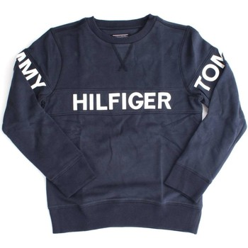 Vêtements Enfant Sweats Tommy Hilfiger KB0KB03382 AME CUT SWEAT-SHIRT Enfant NAVY BLAZER NAVY BLAZER
