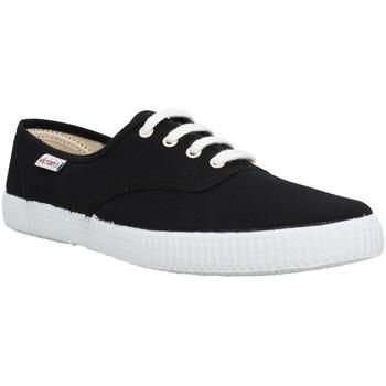 Chaussures Homme Baskets mode Victoria 6613 toile Homme Noir Noir