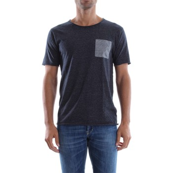 Vêtements Homme T-shirts manches courtes Selected 16049519 T-SHIRT Homme DARK SAPPHIRE DARK SAPPHIRE