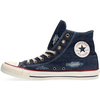 Chaussures Converse 156738c ct hi blue denim sneakers homme blue denim