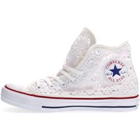 Converse 549310C CT AS HI CROCHET SNEAKERS Femme WHITE WHITE - Chaussures Baskets basses Femme