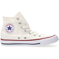 Chaussures Femme Baskets montantes Converse 555978C CT AS HI COTTON EYLET SNEAKERS Femme WHITE WHITE