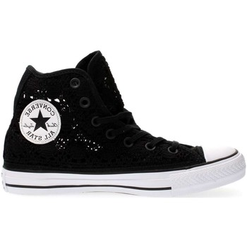 Chaussures Femme Baskets montantes Converse 549308C CT AS HI CROCHET SNEAKERS Femme BLACK BLACK