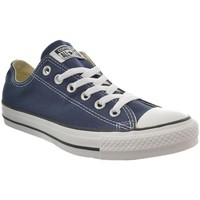 Chaussures Femme Baskets basses Converse baskets mode  chuck taylor all star ox bleu bleu