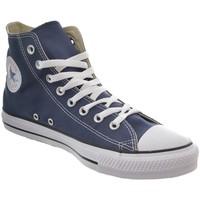 Chaussures Femme Baskets montantes Converse chuck taylor all star hi bleu