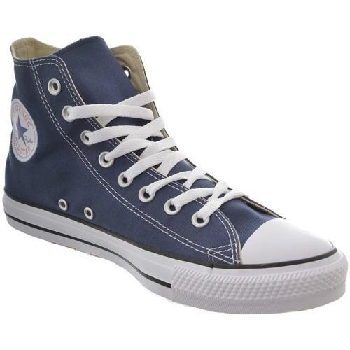 Chaussures Femme Baskets montantes Converse baskets mode  chuck taylor all star hi bleu bleu