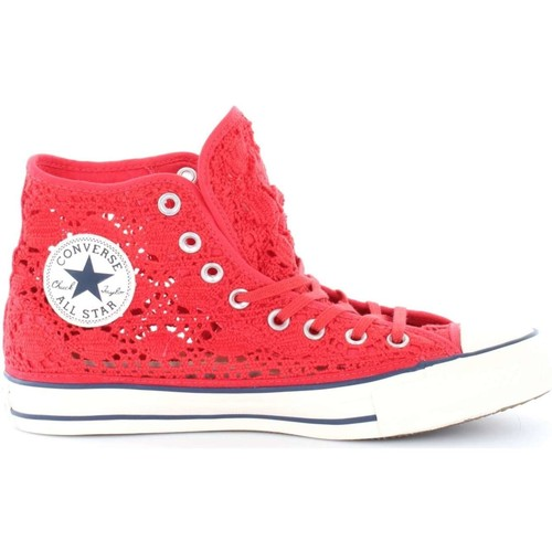 Chaussures Femme Baskets montantes Converse 552998C ALL STAR HI CROCHET SNEAKERS Femme BRAKE LIGHT BRAKE LIGHT