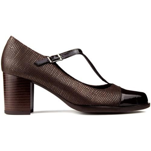 Chaussures Femme Escarpins Kroc CHAUSSURES EN CUIR marron