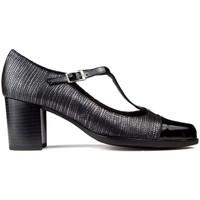 Chaussures Femme Escarpins Kroc CHAUSSURES TACON EN CUIR noir