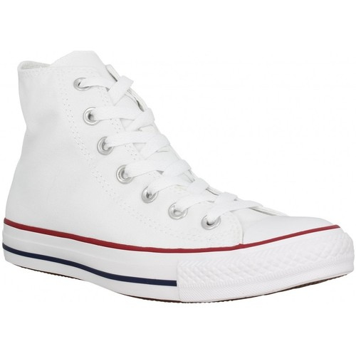 Chaussures Homme Baskets mode Converse Chuck Taylor All Star Hi toile Homme Blanc Blanc
